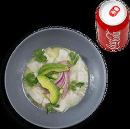 Combo 2 - Ceviche Peruano + Refresco
