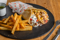 Philly Cheese Kebab