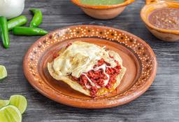 Chorizo gratinado