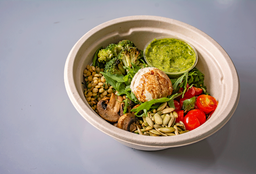 Nut Burrata Bowl