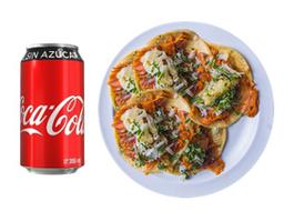 5 Pastores + Coca Cola
