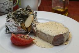 Filete Mignon en Salsa de Mostaza