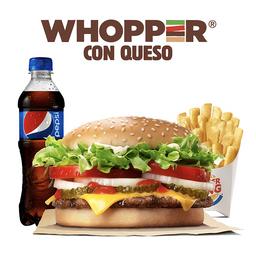 Combo Whopper® con Queso