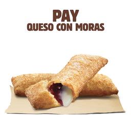 Pay de Queso con Moras