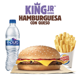 King Jr. Hamburguesa de Queso