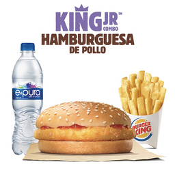 King Jr. Hamburguesa de Pollo