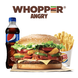 Combo Whopper® Angry