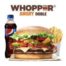 Combo Whooper® Angry Doble