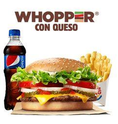 Whopper® con queso