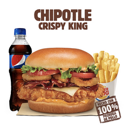 Combo Chipotle Crispy king