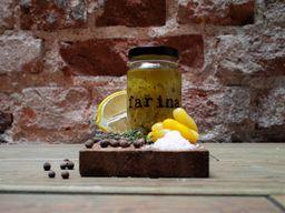 Relish de jitomates amarillos by Farina