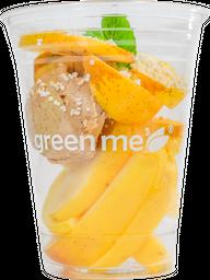 Snack de Manzana con Crema de Cacahuate