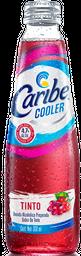 Caribe Cooler - Sabor Tinto  Botella 300 mL