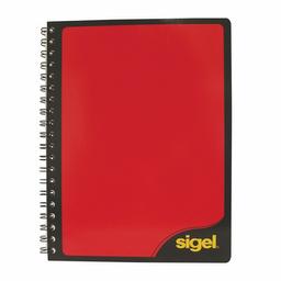 Cuaderno Profesional Sigel Blanco 90 Hojas Cuadro Chico Doble