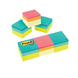 Notas Adhesivas Post-it Super Sticky 2x2 400 Hojas C/U 3 U