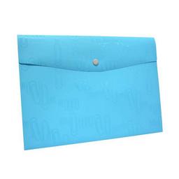 Portadocumentos Iclip Sobre Con Broche Carta Aqua 1 U