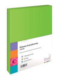 Papel Autoadherible Pochteca Verde 50 U