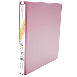"Carpeta Panor‡mica Office Max 1 "" Arillo O Rosa PAstel 1 U"