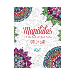 Block Kiut Mandalas y Figuras Para Colorear 40 Hojas 1 U