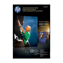 Papel Fotogr‡fico HP Advanced Glossy 4x6'' 100 U