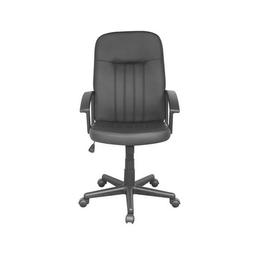 Silla Officemax Ejecutiva Lubec Polipiel Negro 1 U