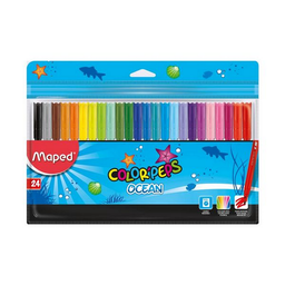 Plum—n Escolar Maped Color«Peps Ocean 24 U