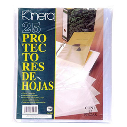 Protector de Hojas Kinera 25 U