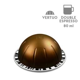 CafŽ Vertuo Double Espresso Chiaro - 80 ml