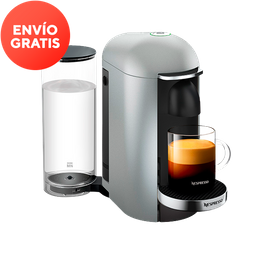 Cafetera Nespresso VertuoPlus Color Plata
