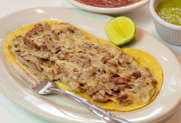 Taco de Filete con Queso