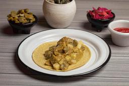 Taco de Chicharrón en Salsa Verde