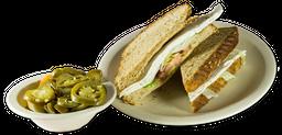Sándwich de Queso blanco