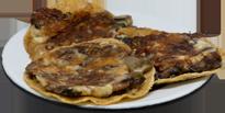 Tacos de Champiñones con Queso