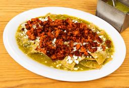 Chilaquiles con Chorizo