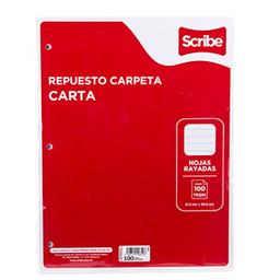 Hojas P/carp Tc Scribe 100h Ry. SKU 8456
