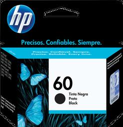 Cartucho De Tinta Hp 60 Negra Original
