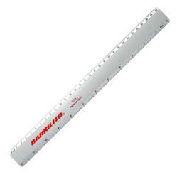 Regla De Aluminio 30cm. SKU 56050
