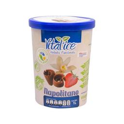 Helado de Crema Org‡nico Napolitano