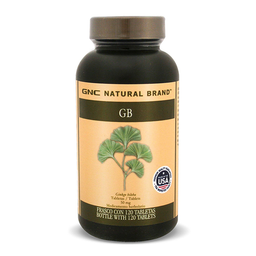 Gnc Natural Brand Ginkgo Biloba