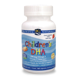 Childrens DHA Omega para niños 180 Cap