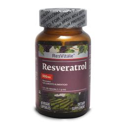 Resveratrol 500 mg 60 Cap