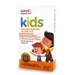 GNC Kids Probioticos Masticables - Fresa