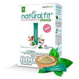 Endulzante de Stevia Natural Fit 60 Sabores