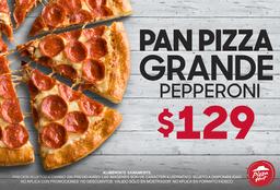 Pan Pizza Pepperoni Grande