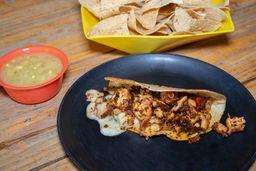 Taco de Pulpo Enchilado