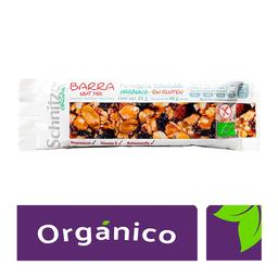 Barra Schnitzer Organic orgánica de cacahuate y almendra 40 g
