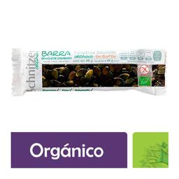 Barra Schnitzer Organic semillas de calabaza, 40 g