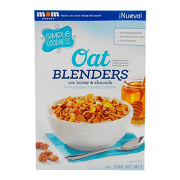 Cereal Simple Goodness Blenders almendras y miel 382 g