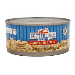 Carne de pollo Butterrfield Farms en agua 283 g