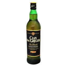 Whisky Clan MacGregor escocés 750 ml
